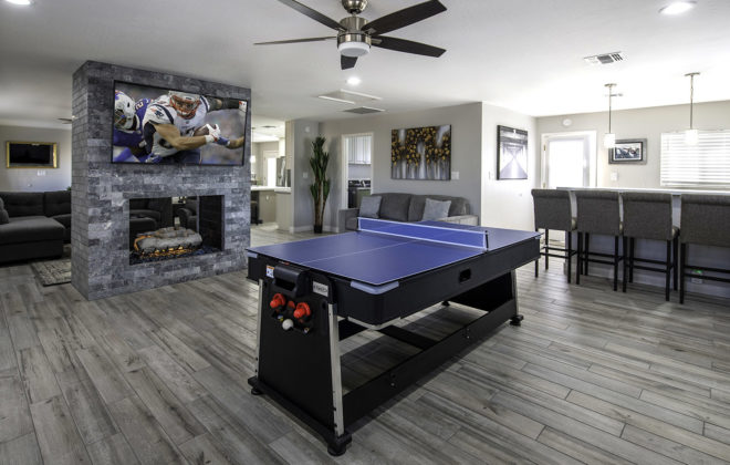 Mike Game Room